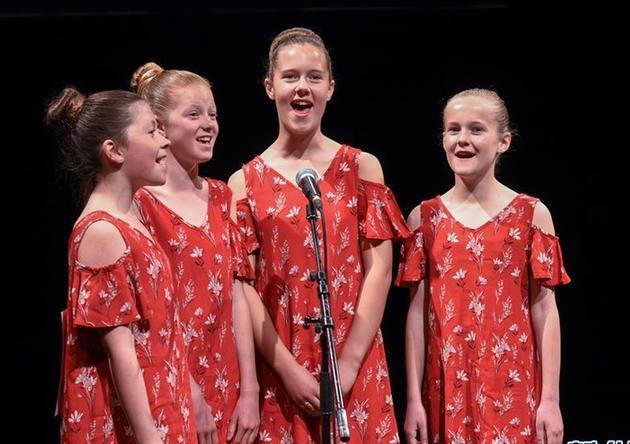 (国际·图文互动)(1)新西兰举办中小学生唱中文歌比赛